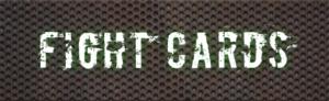 Fight cards på plats
