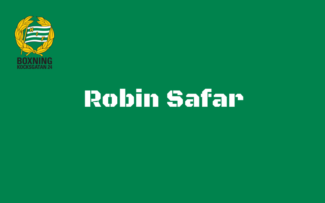 Intervju med Robin Safar