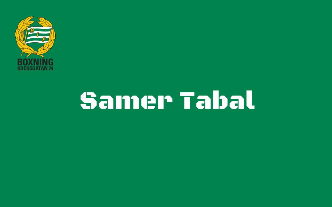 Intervju med Samer Tabal