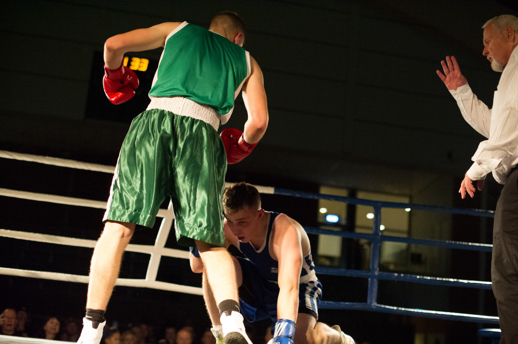 Valtteri Viitanen fick ta räkning i kampen mot Ali Amanullah Yousofi.