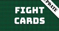 Fight Cards för 2017