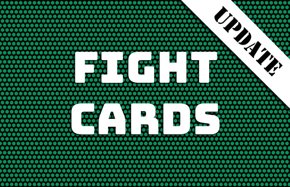 Fight Cards för 2017