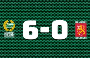Hammarby vann finnkampen
