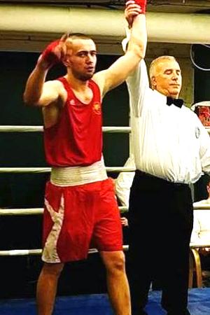 Bohdan Hilevych 81 kg