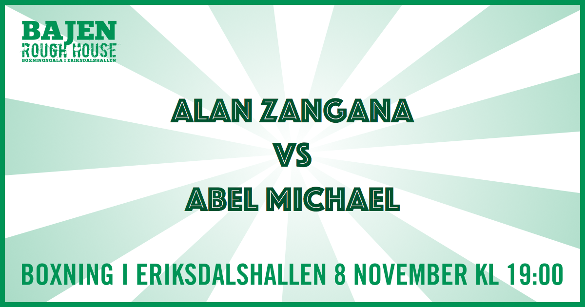 Alan Zangana vs Abel Michael